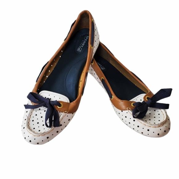 Sperry Top Sider Ballet Flats Women's Size 9.5